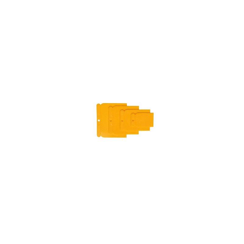 Szpachelka plastikowa żółta