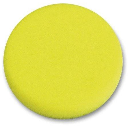 Gąbka polerska na rzep 170mm twarda żółta