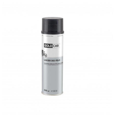 Lakier do felg czarny spray Goldcar 500ml