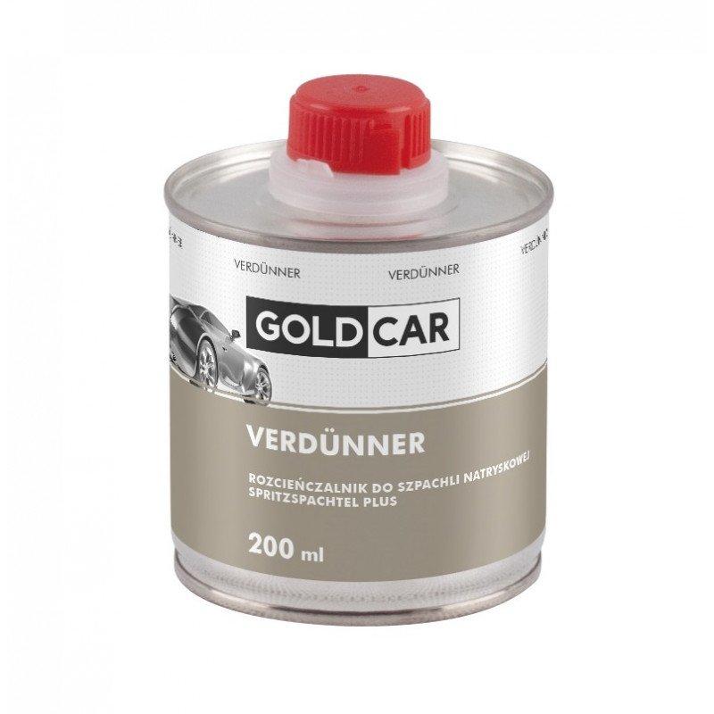 Rozcieńczalnik do szpachli natryskowej Plus Goldcar 200ml