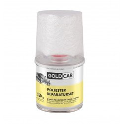 Żywica PS poliestrowa zestaw naprawczy z matą szklaną Goldcar