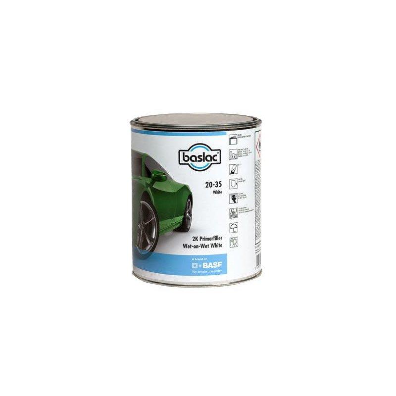 Podkład BASLAC Primerfiller biały 20-35 2K mokre na mokre 3l