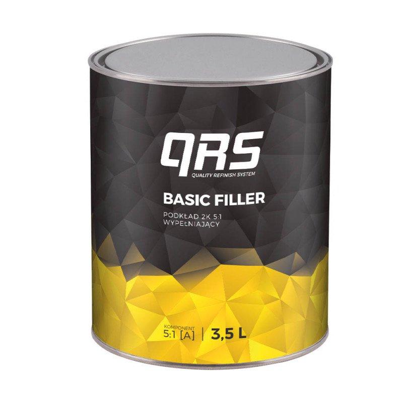 Podkład BASIC FILLER 2K 5:1 biały QRS 3500 ml