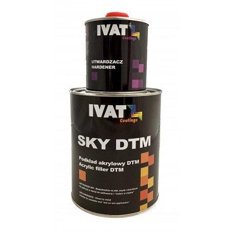 Podkład akrylowy sky filler Czarny 4+1B 1L