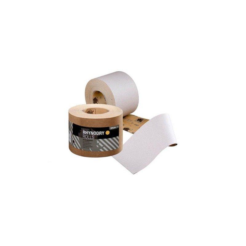 Rolka Indasa biała RHYNALOX 75mm x 50m P080