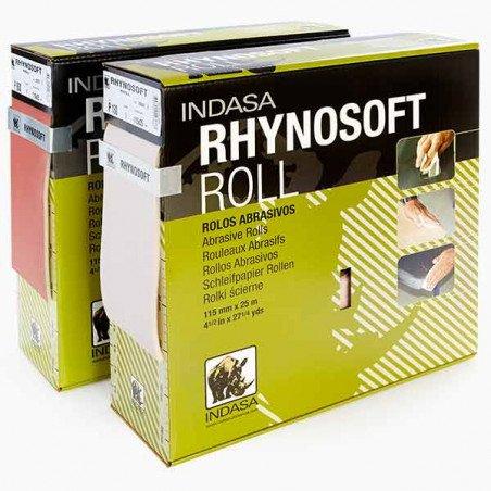 Rolka RHYNOSOFT (gąbka) Indasa 115mm x 25m P 500